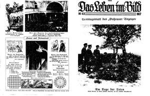 Guhrauer Anzeiger an der Schlesisch-Posener Grenze vom 28.10.1917