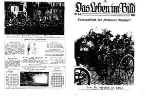 Guhrauer Anzeiger an der Schlesisch-Posener Grenze vom 04.11.1917
