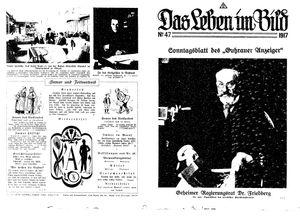 Guhrauer Anzeiger an der Schlesisch-Posener Grenze vom 25.11.1917