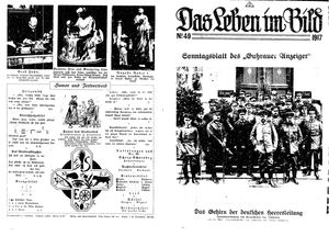 Guhrauer Anzeiger an der Schlesisch-Posener Grenze vom 09.12.1917