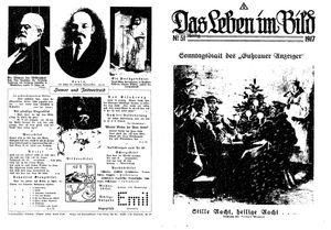 Guhrauer Anzeiger an der Schlesisch-Posener Grenze vom 23.12.1917