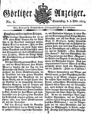 Görlitzer Anzeiger vom 08.02.1810
