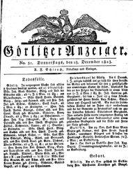 Görlitzer Anzeiger (18.12.1823)