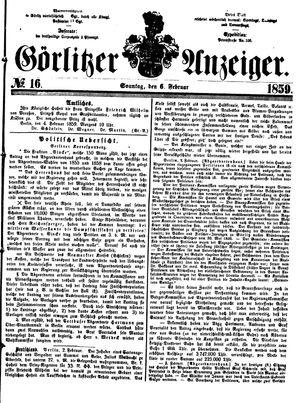 Görlitzer Anzeiger vom 06.02.1859