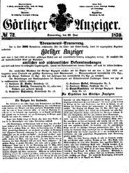Görlitzer Anzeiger (23.06.1859)