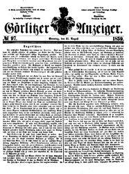 Görlitzer Anzeiger (21.08.1859)