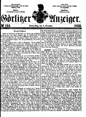 Görlitzer Anzeiger vom 08.12.1859