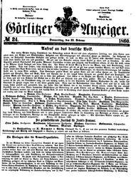 Görlitzer Anzeiger (23.02.1860)
