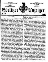 Görlitzer Anzeiger (19.06.1860)