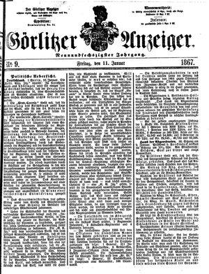 Görlitzer Anzeiger vom 11.01.1867