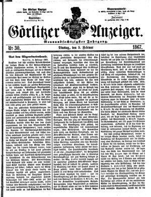 Görlitzer Anzeiger on Feb 5, 1867