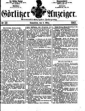 Görlitzer Anzeiger on Mar 2, 1867
