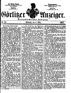 Görlitzer Anzeiger vom 06.03.1867