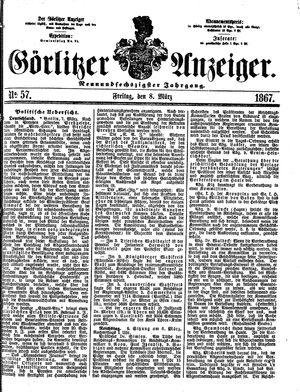 Görlitzer Anzeiger vom 08.03.1867