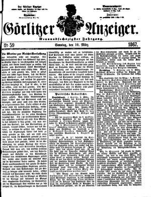 Görlitzer Anzeiger vom 10.03.1867