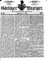 Görlitzer Anzeiger (17.03.1867)