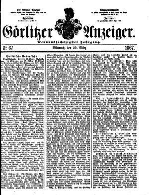 Görlitzer Anzeiger on Mar 20, 1867