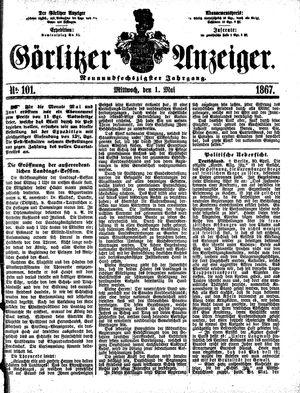 Görlitzer Anzeiger vom 01.05.1867