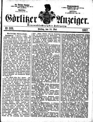 Görlitzer Anzeiger vom 10.05.1867