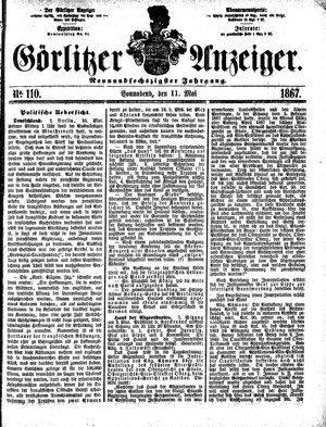 Görlitzer Anzeiger on May 11, 1867