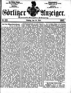 Görlitzer Anzeiger vom 14.05.1867
