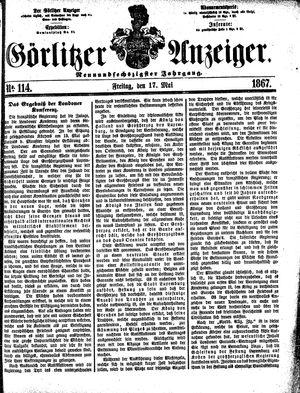 Görlitzer Anzeiger vom 17.05.1867