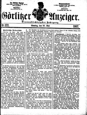 Görlitzer Anzeiger on May 26, 1867