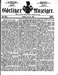 Görlitzer Anzeiger (28.05.1867)