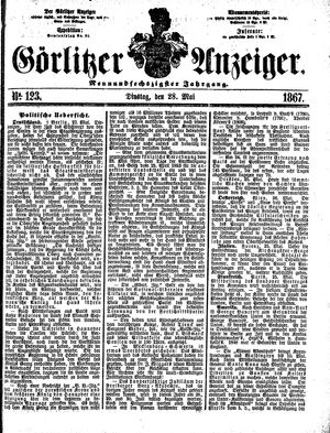 Görlitzer Anzeiger vom 28.05.1867