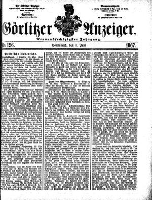 Görlitzer Anzeiger vom 01.06.1867