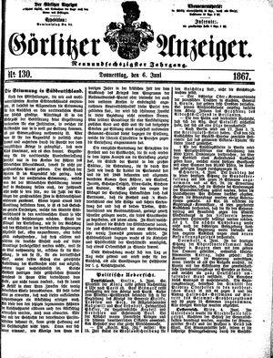 Görlitzer Anzeiger vom 06.06.1867