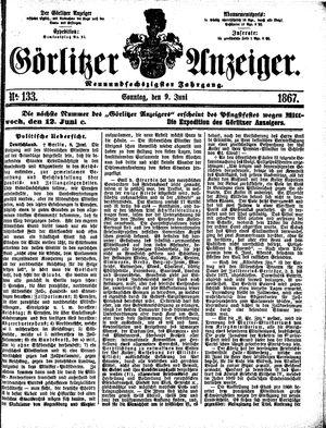 Görlitzer Anzeiger vom 09.06.1867