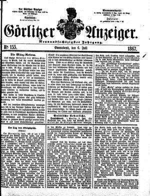 Görlitzer Anzeiger on Jul 6, 1867