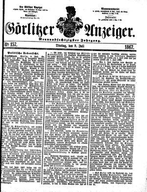 Görlitzer Anzeiger vom 09.07.1867