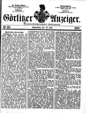 Görlitzer Anzeiger vom 13.07.1867