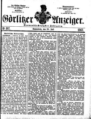 Görlitzer Anzeiger on Jul 20, 1867