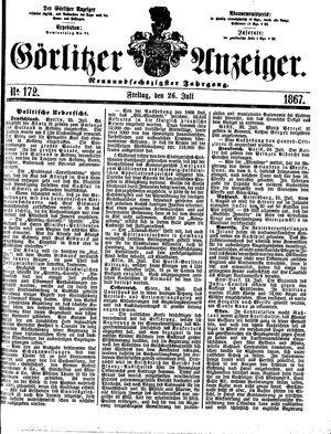 Görlitzer Anzeiger vom 26.07.1867