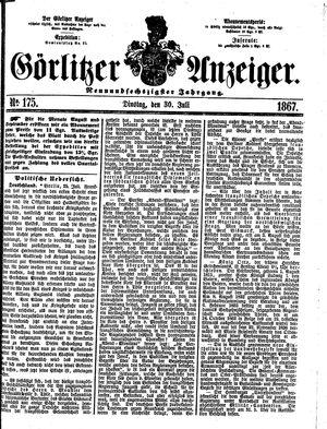 Görlitzer Anzeiger vom 30.07.1867