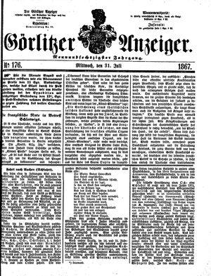 Görlitzer Anzeiger on Jul 31, 1867