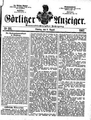 Görlitzer Anzeiger vom 06.08.1867