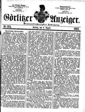 Görlitzer Anzeiger vom 09.08.1867