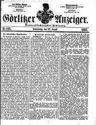 Görlitzer Anzeiger (22.08.1867)