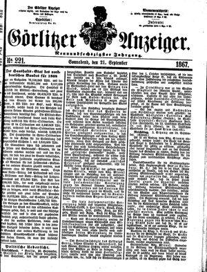 Görlitzer Anzeiger vom 21.09.1867