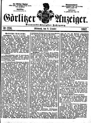 Görlitzer Anzeiger on Oct 9, 1867