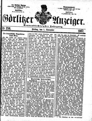 Görlitzer Anzeiger vom 01.11.1867