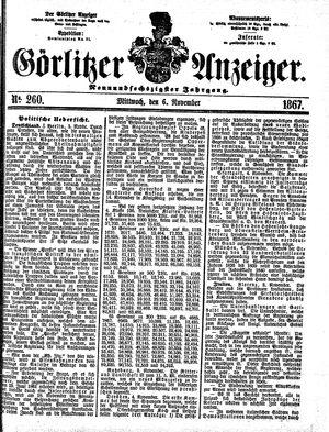 Görlitzer Anzeiger vom 06.11.1867