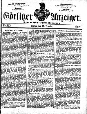 Görlitzer Anzeiger on Dec 17, 1867