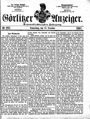 Görlitzer Anzeiger vom 19.12.1867