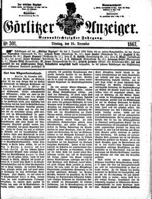 Görlitzer Anzeiger vom 24.12.1867