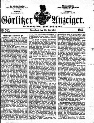 Görlitzer Anzeiger vom 28.12.1867